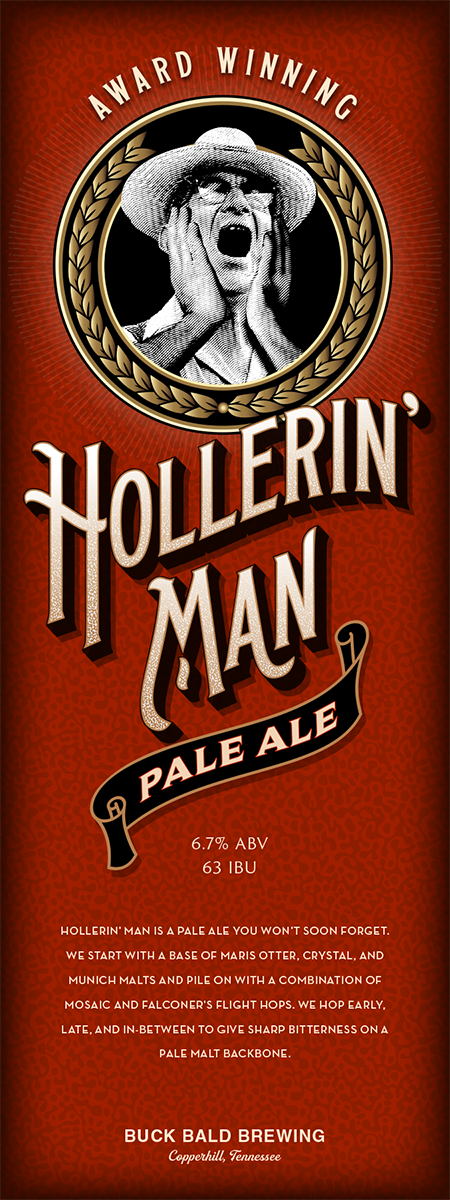 Hollerin' Man Pale Ale