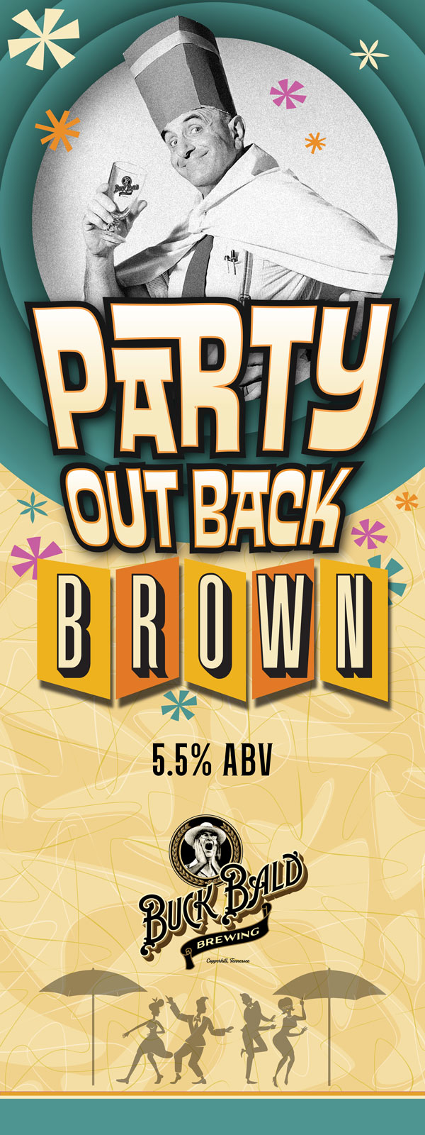 Party Out Back Brown Ale