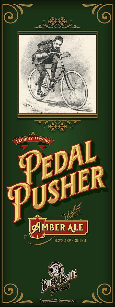Pedal Pusher Amber Ale
